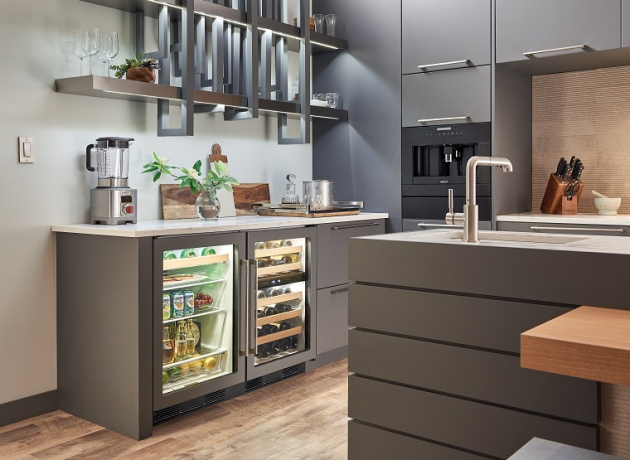 Would Your Home Benefit From Installing an Under Counter Beverage Center?