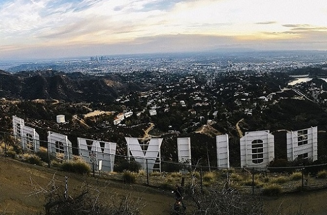 Hollywood as seen from the Hollywood Sign